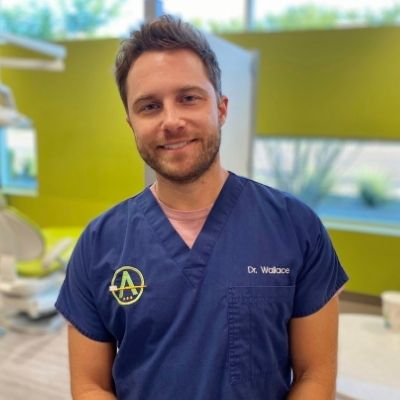 Dr. Cayce Wallace is a pediatric dentist